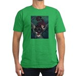 """""""Bad Kitty"""" Cheshire Cat Men's Fitted T-"""