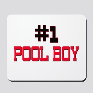 Number 1 POOL BOY Mousepad