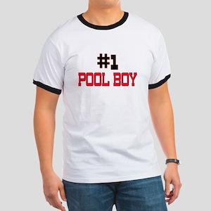 Number 1 POOL BOY Ringer T