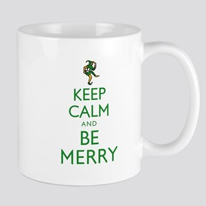 Keep Calm and Be Merry Mug