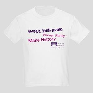 Well Behaved Women Kids Light T-Shirt