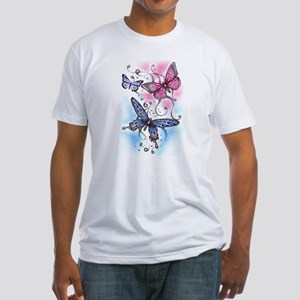 Butterfly Dreams Fitted T-Shirt
