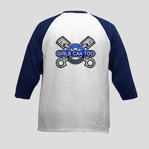 GC2 Motorsports (Blue) Kids Baseball Jersey