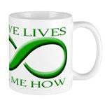Save Lives, ask me how Mug