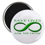 Save Lives, ask me how Magnet