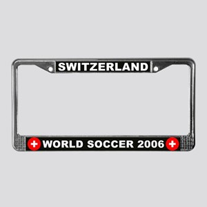 Switzerland World Cup License Plate Frame