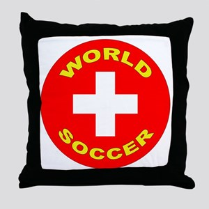 Switzerland World Cup Throw Pillow