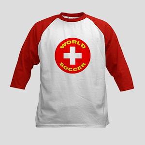 Switzerland World Cup Kids Baseball Jersey