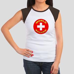 Switzerland World Cup Women's Cap Sleeve T-Shirt