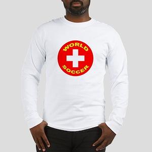 Switzerland World Cup Long Sleeve T-Shirt