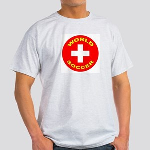 Switzerland World Cup Ash Grey T-Shirt