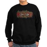 Give Life Vine Design Sweatshirt (dark)