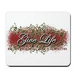 Give Life Vine Design Mousepad