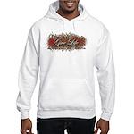 Give Life Vine Design Hooded Sweatshirt
