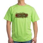 Give Life Vine Design Green T-Shirt