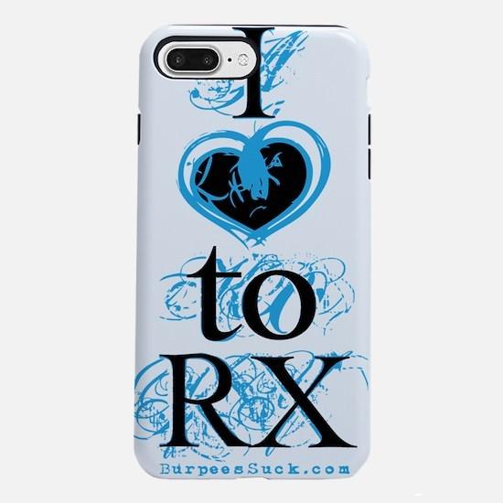 i love to rx blue.psd iPhone 7 Plus Tough Case