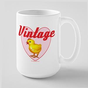 vintage chick big Mugs