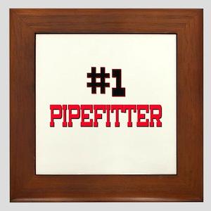 Number 1 PIPEFITTER Framed Tile