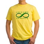 Give Life Yellow T-Shirt