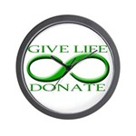 Give Life Wall Clock