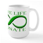 Give Life Large Mug
