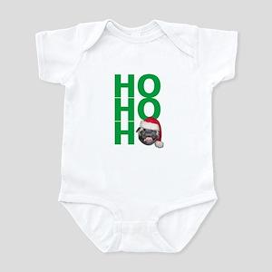 Ho ho ho Santa Pug Christmas onesie