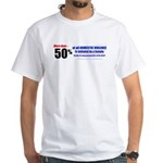 Domestic Violence Truth 2-sided Revea White T