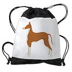 Ibizan Hound Drawstring Bag