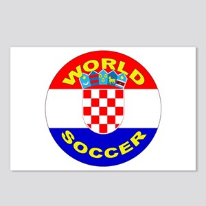 Croatia World Cup Soccer Postcards (Package of 8)