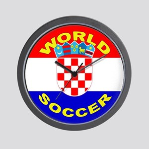 Croatia World Cup Soccer Wall Clock