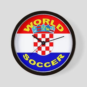 Croatia World Cup Soccer Wall Clock