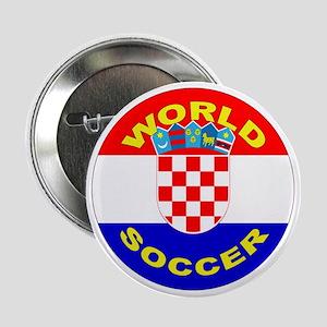 Croatia World Cup Soccer Button