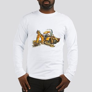 Back Hoe Long Sleeve T-Shirt