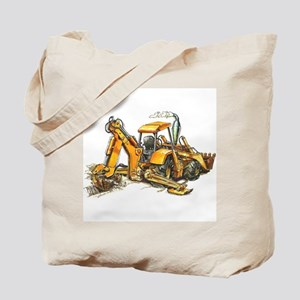 Back Hoe Tote Bag