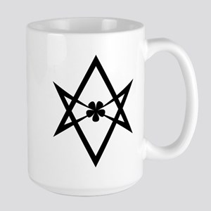 Unicursal Hexagram Large Mug