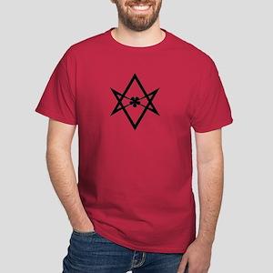 Unicursal Hexagram Dark T-Shirt