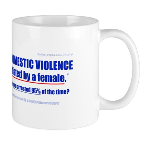 Domestic Violence Truth Revea Mug