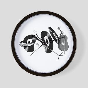 Rocking Records Wall Clock