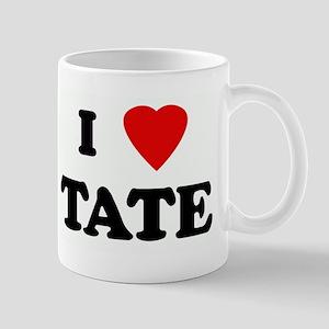 I Love TATE Mug