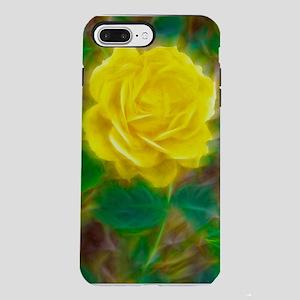 Yellow Rose iPhone 7 Plus Tough Case