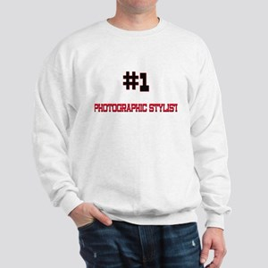Number 1 PHOTOGRAPHIC STYLIST Sweatshirt