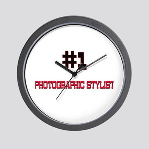 Number 1 PHOTOGRAPHIC STYLIST Wall Clock