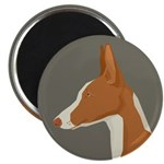 Ibizan Hound Profile Magnets