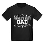 World's Best Dad Kids Dark T-Shirt