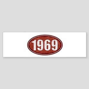 1969 Bumper Sticker