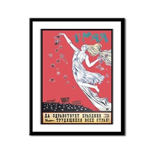 Workers Holiday Framed Panel Print