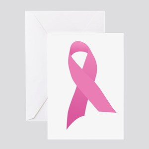 Pink ribbon vintage greeting cards cafepress pink ribbon t shirts and gift greeting card m4hsunfo