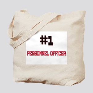 Number 1 PERSONNEL OFFICER Tote Bag
