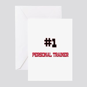 Number 1 PERSONAL TRAINER Greeting Cards (Pk of 10