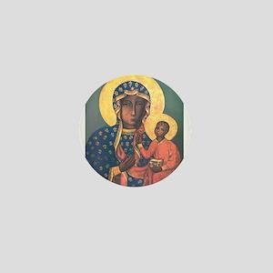 Our Lady of Czestochowa Mini Button